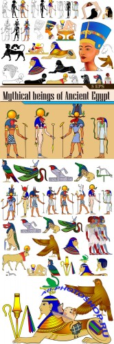 Mythical beings of Ancient Egypt