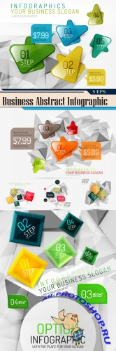 Business Abstract Infographic