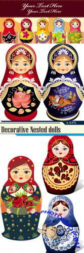 Decorative Nested dolls