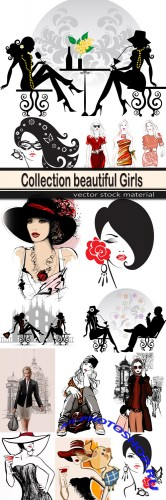 Collection beautiful Girls