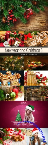 New year and Christmas 3