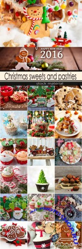 Christmas sweets and pastries