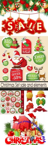 Christmas Set sale and elements
