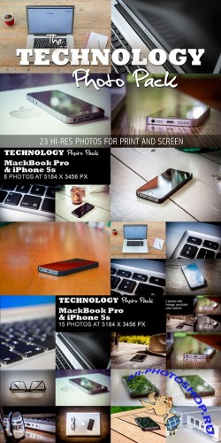 Technology Photo Pack - 23 HR pics - Creativemarket 56332