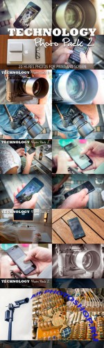 Technology Photo Pack 2 - Creativemarket 130838