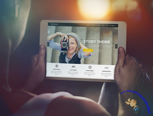 Tablet Ipad Mock-up Template