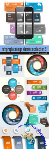 Infographic design elements collection 27