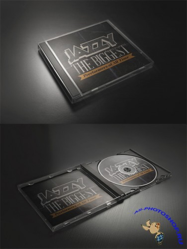 CD Mock-up Template