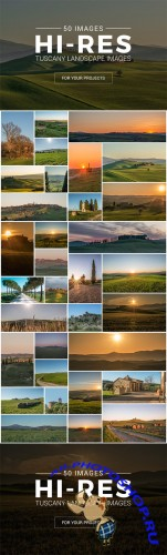 Tuscany Landscape Pack - 50 Photos - Creativemarket 244637