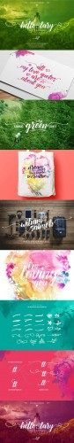Hello Lary + Ornament and Swashes - Creativemarket 557568