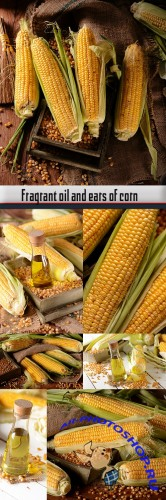 Fragrant oil and ears of corn