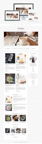 Gather v1.0 - Wordpress Theme - Creativemarket 366064