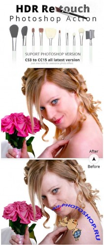 ������ ��� �������� - HDR Skin Retouch