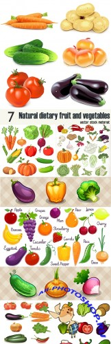 Natural dietary fruit and vegetables