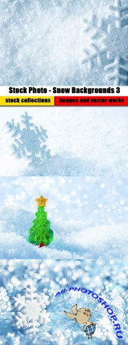 Stock Photo - Snow Backgrounds 3