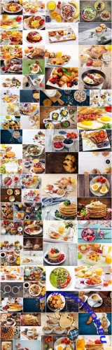 Tasty Breakfast - Set of 80xUHQ JPEG Professional Stock Images