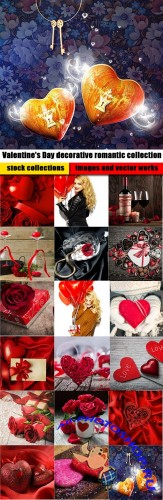 Valentine's Day decorative romantic collection