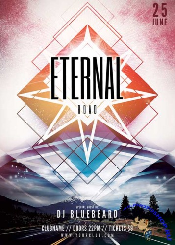 Eternal Road V14 Flyer Template