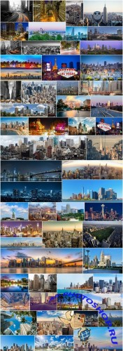 American cities and architecture - 60xUHQ JPEG