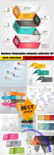 Business Infographics elements collection 183