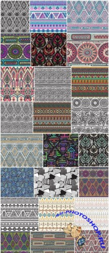 Tribal & Ethnic Ornaments 5 - 24xEPS