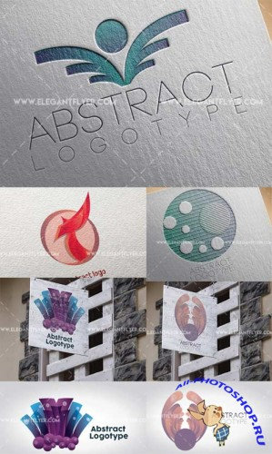 Abstract logo V1 Premium Stock Illustration