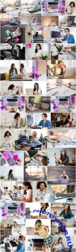 Businesswoman and workplace - 50xUHQ JPEG