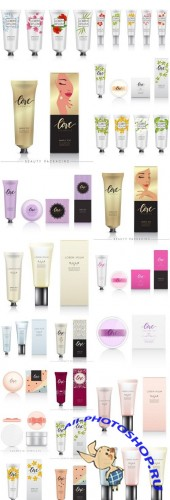 Cream Tube Cosmetics