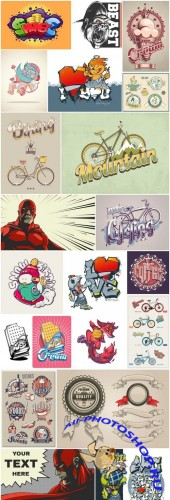 Different Creative Art Illustration - 20 Vector