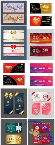 Gift Voucher Collection #23 - 10 Vector