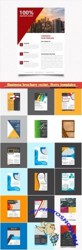 Business brochure vector, flyers templates # 46