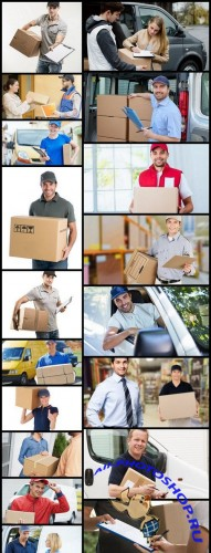 Delivery Courier - 18 HQ Images
