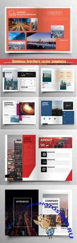 Business brochure vector templates, magazine cover, business mockup, education, presentation, report # 62