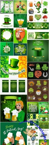 St. Patricks Day Irish Style #3 - 25 Vector
