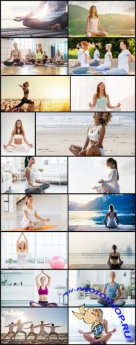 Yoga Meditation - 20 HQ Images