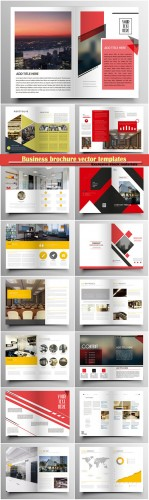 Business brochure vector templates, magazine cover, business mockup, education, presentation, report # 67