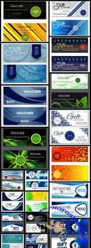 Gift Voucher Collection #20 - 20 Vector