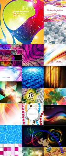 Abstract backgrounds set 3