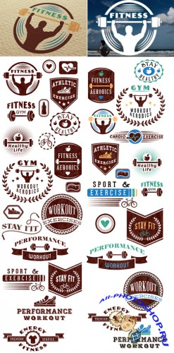 Super premium logo builder - Fitness V1