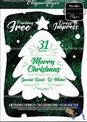 Merry Christmas V23 2017 Flyer Template