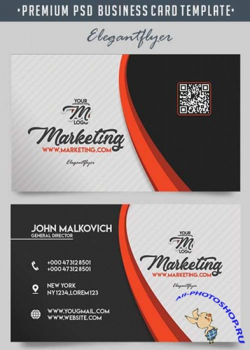 Marketing V11 Premium Business Card Templates PSD