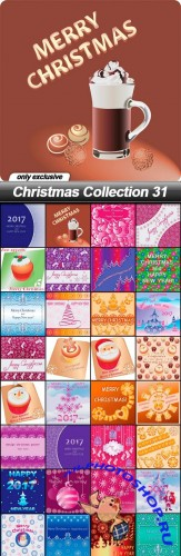 Christmas Collection 31 - 36 EPS