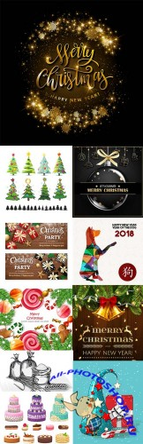 Modern big collection illustrations and elements design 20