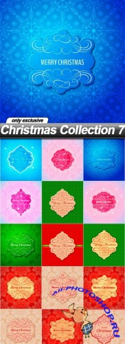 Christmas Collection 7 - 15 EPS