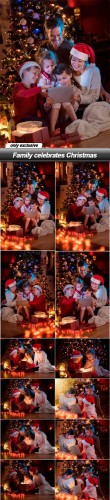 Family celebrates Christmas - 13 UHQ JPEG