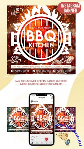 BBQ Kitchen V1 2018 Instagram Banner