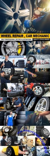 Wheel Repair , Car Mechanic - 25 HQ IMages