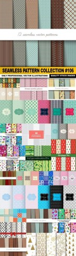 Seamless Pattern Collection #106 - 25 Vector
