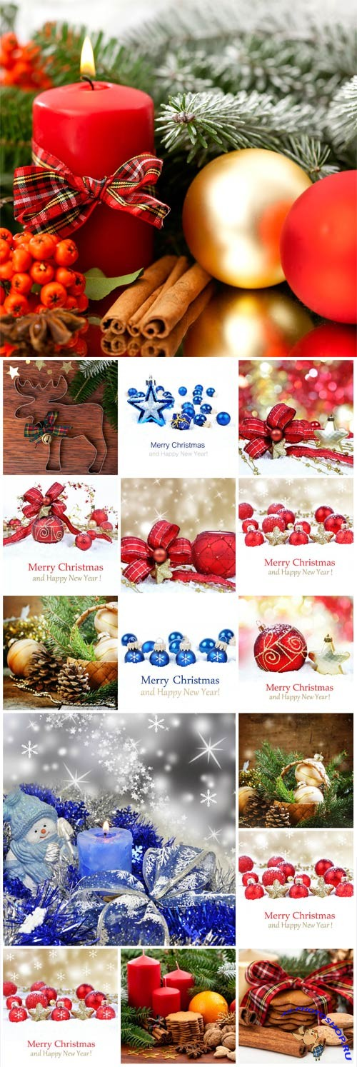 New Year and Christmas stock photos №29