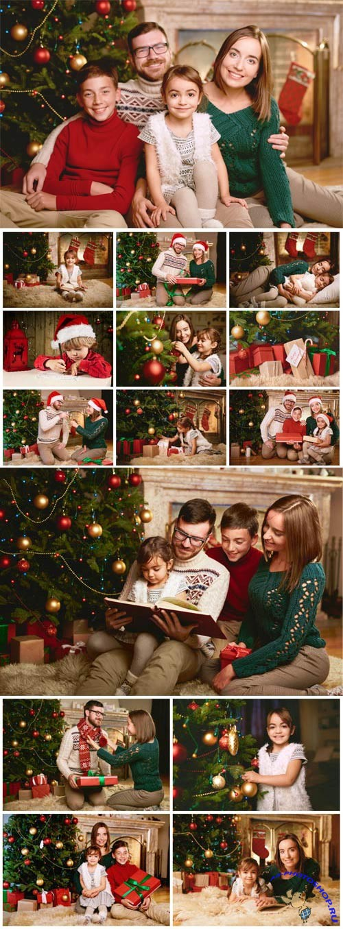 New Year and Christmas stock photos №23